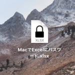 Microsoft Excel for Mac でのファイルパスワードの設定と解除
