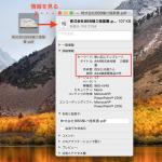 Mac ではPDF のタイトル、作成者などの情報を標準機能で変更可能。