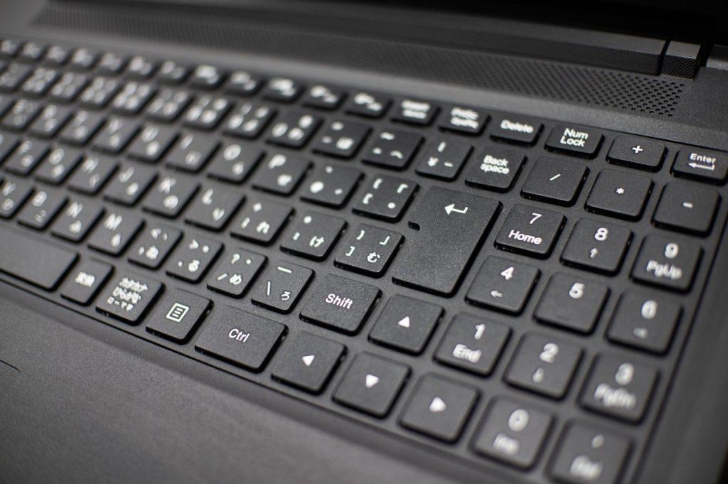 Windowsノートキーボード黒