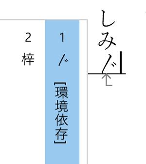 くの字点Unicode2